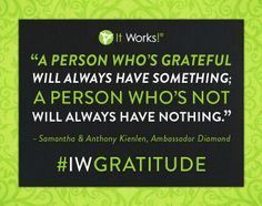 Have an attitude of Gratitude! http://myskinnymiracle.myitworks.com