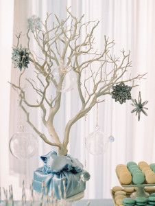 Decor Tree from a Winter ONEderland Birthday Party via Kara's Party Ideas KarasPartyIdeas.com (21)