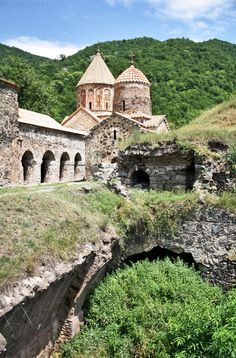 Dadivank monastery... It was built between the 9th and 13th century. Karvachar, Artsakh, Armenia.