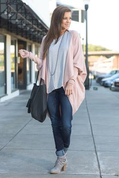 """""""Can't Stop This Feeling Cardigan, Blush"""" We cannot stop the feeling we have for this cardigan! We adore everything about it! And we know you will too! #newarrivals #shopthemint"""