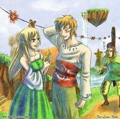 The Legend of Zelda: Skyward Sword - Zelda, Link, and Groose