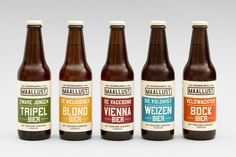 Bierbrouwerij Maallust logo- en huisstijlvormgeving door de Jongens Ronner. Strak, eigentijds met een mooie link naar het verleden van Veenhuizen.