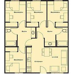 Tiny Four Bedroom Homes Ile Ilgili Görsel Sonucu