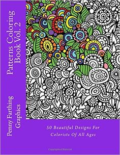 Patterns Coloring Book Vol 2 Penny Farthing 9781494464554 Amazon
