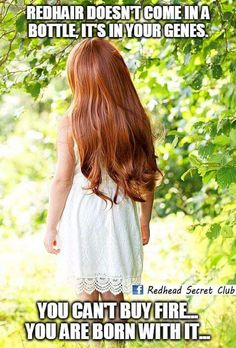 Thinking of changing your hair color? If the answer is yes, you need to read my experience in becoming a redhead! Redhead Problems, Redhead Facts, Redhead Quotes, Henna Tattoos, Red Hair Quotes, Natura Plant, People With Red Hair, Red Hair Don't Care, Ginger Girls
