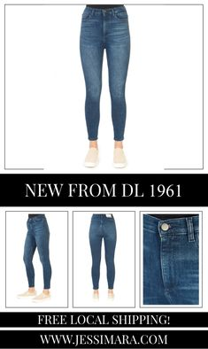 This is the 'Chrissy' Blue Skinny Ankle Tulsa Jeans by stunning brand, DL 1961. The Chrissy is an ankle-length and figure-flattering fit. With an increase of coverage, it will effortlessly highlight the most flattering part of the waist. This is the perfect piece to carry you into the colder season! Dl 1961, Denim Jeans, Skinny Jeans, Ankle Length, Highlight, Shop Now, Fitness, Pants, Blue