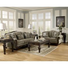 Ashley  Piece Martinsburg Meadow Living Room Set