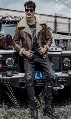 ... Sheepskin Coat Pilots Coat Brown Original Flying Jacket B3 Sheepskin  Jacket Rust color Vintage shearling jacket from Reliable Genuine Leather  Coats ... 285c14886