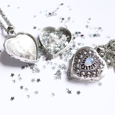 >| Wishbox Trinker Necklace in store now at www.shopdixi.com |< stars // moonstone // wishes // magical // gifts