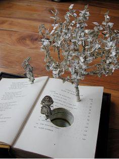 Booklicious: Su Blackwell's Book Sculptures