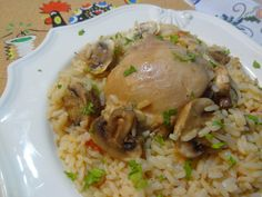 Portuguese Chicken with Rice Recipe from Tia Maria's Blog