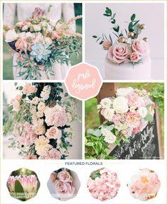 wedding flowers ideas Pale Dogwood