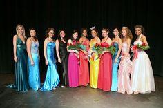 2007 Miss #Anaheim contestants with #MissAnaheim Chasta Nechvatal