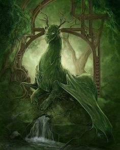 Library Dragon Vertis, and his elven avatar in their forest library. Mythical Creatures Art, Mythological Creatures, Fantasy Creatures, Dragon Images, Dragon Pictures, Dragon Pics, Fantasy Dragon, Fantasy Art, Fantasy Beasts