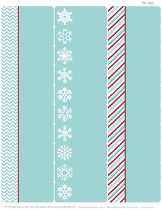 Free printable Holiday address labels part of a collection by Erin Rippy of Ink Tree Press!