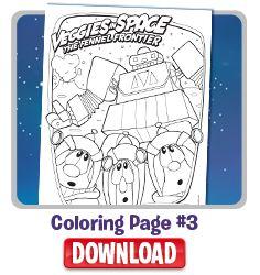 veggietales minnesota cuke coloring pages - photo#17