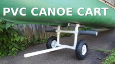 How to make a canoe/kayak cart out of PVC. Supply list and diagram: http://Makify.com/stuff/Cart_Plans.pdf Video Responses candyraved: http://youtu.be/zz_I59...