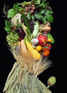 Summer by Klaus Enrique (inspired by Arcimboldo)