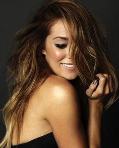 Lauren Conrad - glowing - ombre hair