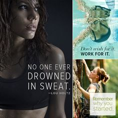 Get Inspired to Move! Motivational Fitness Quotes Too tired. Don't have time. It's too cold. Can't find a sports bra. Whatever your excuse, these motivational quotes are the antidote to skipping your workout. Some of these quotes might be familiar, others not — regardless, they will get you moving.