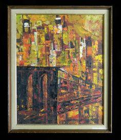 Brooklyn Bridge Painting