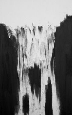 allanredd: Iceland inspired a waterfall. This is one of a limited selection of my art on Saatchi Online. Waterfall by Allan Redd
