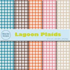 Lagoon Plaids