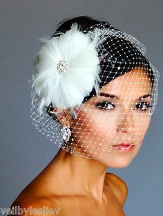 Bird cage veil,THIS IS WHAT I WANT