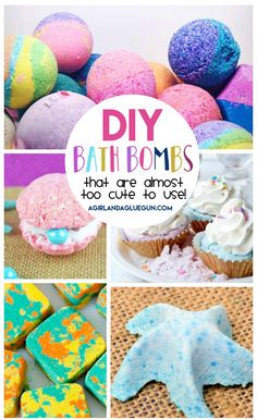 I love bath bombs. Seriuosly love. If you have not had one in your life…you are sorely missing out! They smell AMAZING. They make your skin so soft. And…I might immature..but the fizzing is just so dang fun! BUT –some Bath bombs can be expensive! (most) So why not DIY some and have yourself some …