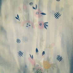 Celia Birtwell print on my silk chiffon Ossie top. Photo by featherstonevintage Celia Birtwell, Top Photo, Silk Chiffon, Instagram