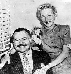 Ernest Hemingway | Married his fourth wife, Mary Welsh | Event view