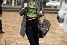 Street Style en Milan Fashion Week © Coke Bartrina