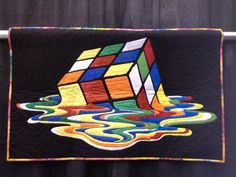 This would (is) be a very interesting quilt.