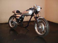 500SR cafe racer - french custom