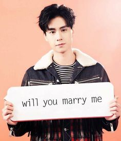 yes i will marry you because of you my day is complete i love you hu yi tian Asian Actors, Korean Actors, A Love So Beautiful, My Love, L Kpop, K Drama, Daddy Long, Perfect Boyfriend, Cute Actors