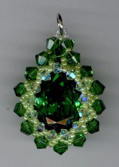 Swarovski Crystal Pendant made by Marcie Lynne Price $40.00