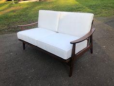 Danish Modern, Mid-century Modern, Modern Lounge, Modern Chairs, Industrial Style Furniture, Mid Century Modern Sofa, Upholstered Sofa, Classic Furniture, Outdoor Sofa