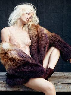 Aline Weber by Bryan Adams for Zoo Magazine Fall 2014 Kingston, Bryan Adams Photography, Zoo Magazine, Underwear, Guy, Lingerie Party, Wedding Lingerie, Famous Photographers, Fur Fashion
