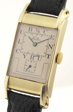 Rolex PRINCE DOCTORS WATCH - EATON 1/4CENTURY CLUB -14ct GOLD