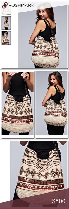 PREVIEW Tribal Beaded Shoulder Bag Off White/Multi DESCRIPTION A feminine shoulder bag with intricate beading, suede shoulder straps, metal loop detail and classic tribal design. LINING: 100% POLYESTER LINING  FABRIC 90% COTTON, 5% POLYESTER, 5% PU Bags Shoulder Bags