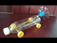 How to make a hovercraft toy (Home Experiments for kids) Science Experiments Kids, Science For Kids, Balloon Cars, Balloons, Recycled Bottles, Plastic Bottles, Science Project Models, Kid Life Hacks, Diy For Kids