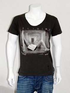 RELIGION Naughty Wish You Were Here Latitude T Shirt