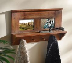 Wall Hook with Photo Frame #kirklands #westernsunset
