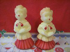 Vintage Gurley Novelty Christmas Candles Set of 2 by VintageBarrel, $9.99