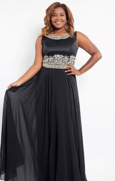 33e8eacd69d Rachel Allan Curves 7828 Prom Homecoming Formal Plus Size Dress