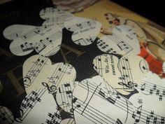 Sheet Music Hearts