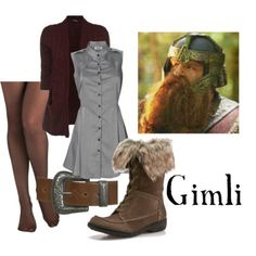 Gimli  Western Buckle Belt, $35  SE Boutique Marni Boot - Taupe, $50  It Seams I Love You Tights, $18  Wine Cable Stitch Slouchy Cardigan, $24      Wal G Button Front Shirt Dress, $40