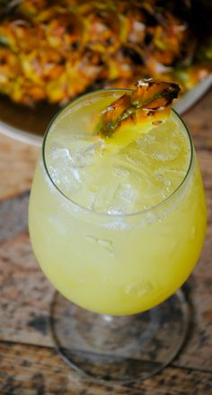 Agua De Piña, agua fresca, pineapple water, pineapple