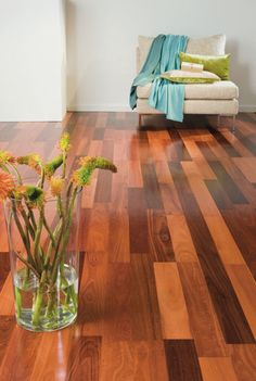 Have a look at this remarkable walnut wood flooring - what an ingenious design and development Timber Flooring, Hardwood Floors, House Rooms, Living Rooms, Wide Plank, Luxury Vinyl, Walnut Wood, Blinds, Room Decor