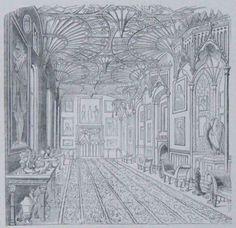 Gothic revival interior: English Buildings: ...c 1700-1837